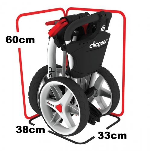 Clicgear 3.5 + v zloženom stace